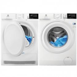 Tvättmaskin och torktumlare paket Bäst i test 2021 Electrolux EW6F5248G3 och EW7H528G4